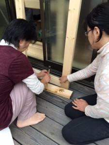 DIY内窓づくり (2)